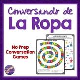 La Ropa, Spanish Conversation, Games, Vocabulary, Interact