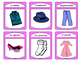 La Ropa Spoons Card Game -The Clothing Vocabulary in Spanish