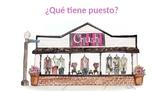 La Ropa - TPRS Circling Format - ¿Qué tiene puesto? - Clothing for Spanish