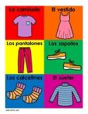 La Ropa | Clothes in Spanish
