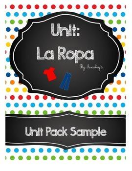 La Ropa Unit Pack FREE SAMPLE