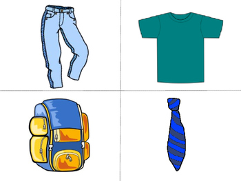 La Ropa Vocabulary Word Wall – Clothing Vocabulary in Spanish
