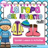 La Ropa del Invierno~ Elementary Spanish Lesson~ Winter Clothing Unit
