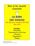 La Ropa en Español-A Clothing Unit in Spanish that you will love!