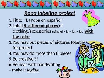 La Ropa labeling project