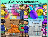 Clothes in Spanish BUNDLE