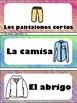 La Ropa y Los Zapatos Word Wall Spanish Clothes and Shoes
