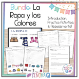 La Ropa y los Colores - Introduction, Practice, and Assessments