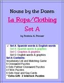 La Ropa/Clothing--Set A