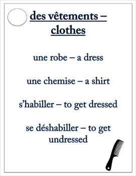 La Routine Quotidienne - French Taboo Speaking Game