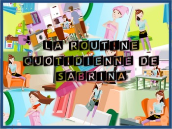 La Routine Quotidienne Vocab and Bingo