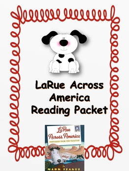 La Rue Across America - Postcards From The Vacation Reading Packet