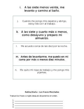 La Rutina Diaria (Los Reflexivos) - Frases Mezcladas