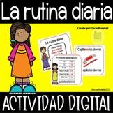 La Rutina Diaria en Español - Vocabulario y Actividades en