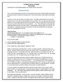 La Rutina Estricta y El Ladrón: A Spanish TPRS Unit