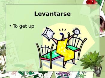 La Rutina and Reflexive verbs --Vocabulary