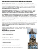 La Sagrada Familia - Preterite reading