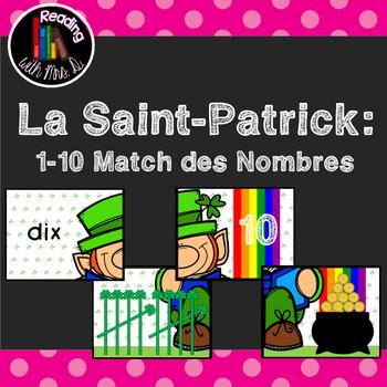 La Saint-Patrick 1-10 Match des Nombres