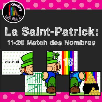 La Saint-Patrick 11-20 Match des Nombres