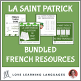 La Saint Patrick - Bundled French Resources