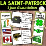 La Saint-Patrick - Ensemble 2 jeux d'association - St. Patrick's Day - Bundle