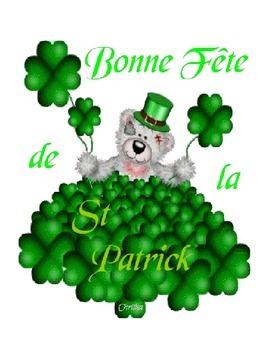 La Saint-Patrick Flash Cards