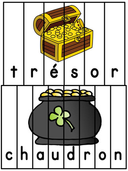 La Saint-Patrick - French St. Patrick's Day - Puzzles 2