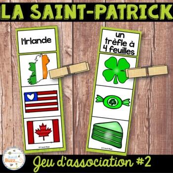 La Saint-Patrick - Jeu d'association #2 - St. Patrick's Da