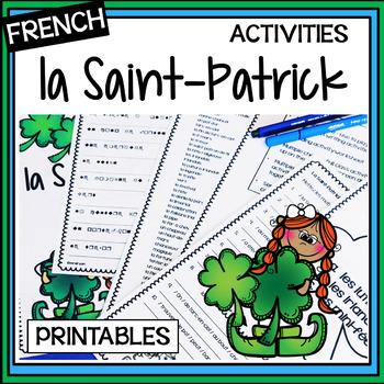 La Saint-Patrick – Saint Patrick's Day Fun in the Classroo
