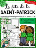 La Saint-Patrick/St. Patrick's Day Activities - Core Frenc