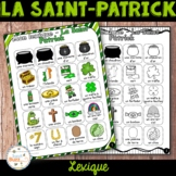 La Saint-Patrick - lexique - French St. Patrick's Day