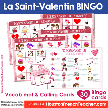 La Saint Valentin Bundle: French Valentine's Day Bundle