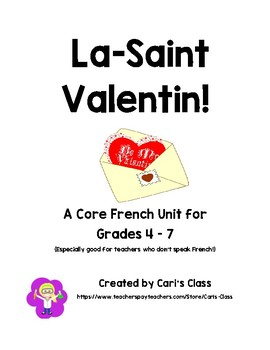 La-Saint Valentin Core French Unit