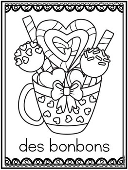 saint valentin coloring pages colorier