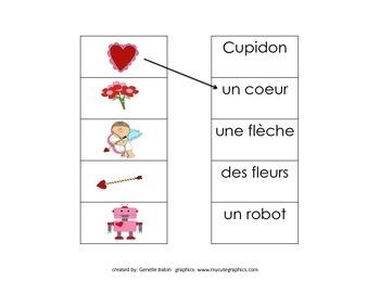 La Saint Valentin French Immersion Activity Pack