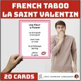 La Saint Valentin - French Valentine's Day Taboo Game