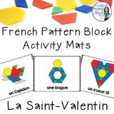 La Saint-Valentin:  French Valentine's Day Pattern Block Pictures