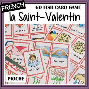 """La Saint Valentin – Valentine's Day """"Pioche"""" card game"""