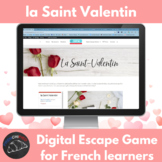 La Saint Valentin – digital escape game for French learners