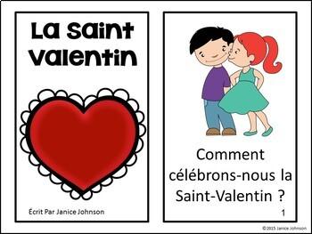 La Saint Valentin {en français} French Valentine's Day Reader