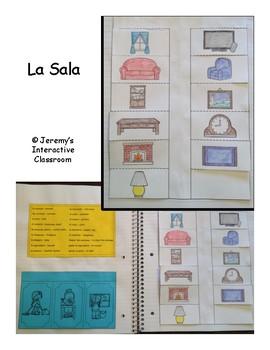 La Sala - Spanish Interactive Notebook