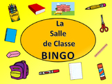 La Salle de Classe BINGO – French Classroom Objects Vocabulary