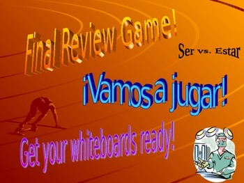 La Salud y el Bienestar & Ser vs. Estar Review Game