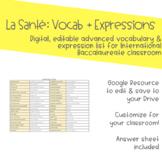 La Santé - Le Vocabulaire + Les Expressions (Google Resource)