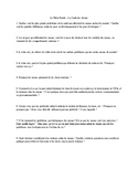 La Sante des Jeunes - Discussion Questions (Student Health and Well-Being)