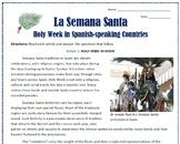 Easter / La Semana Santa in Spain and Mexico: Reading & Ac