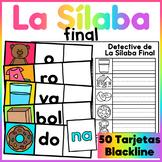 La Sílaba Final - Spanish Ending Syllable