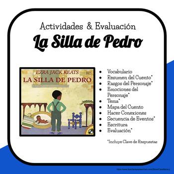 La Silla de Pedro Actividades y Preguntas de Comprensión