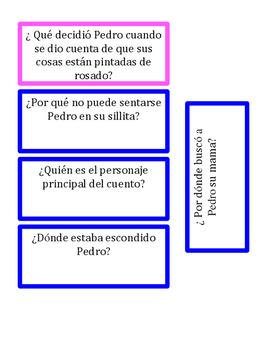 """La Silla de Pedro """"WH"""" questions for Cariboo"""