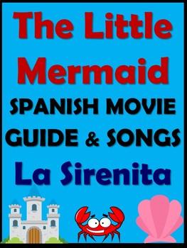 La Sirenita - The Little Mermaid Movie Guide in Spanish